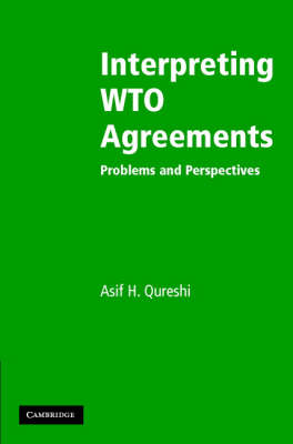 Interpreting WTO Agreements: Problems and Perspectives (Hardback)