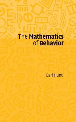 The Mathematics of Behavior (Hardback)