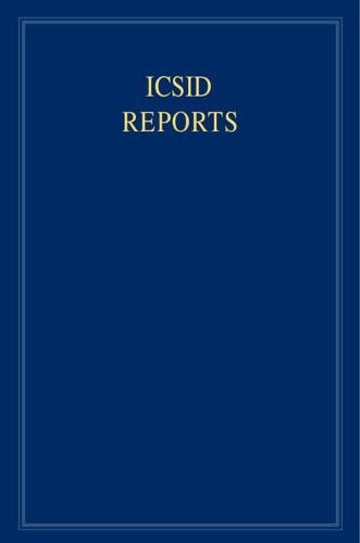 ICSID Reports: Volume 8 - International Convention on the Settlement of Investment Disputes Reports (Hardback)