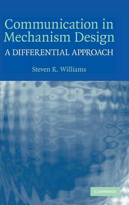 Communication in Mechanism Design: A Differential Approach (Hardback)