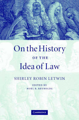 On the History of the Idea of Law (Hardback)
