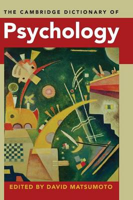 The Cambridge Dictionary of Psychology (Hardback)