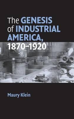 Cambridge Essential Histories: The Genesis of Industrial America, 1870-1920 (Hardback)