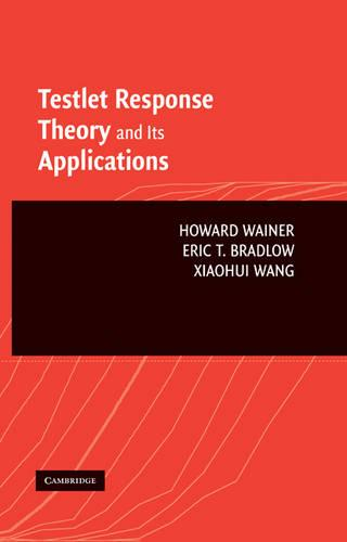 Testlet Response Theory and Its Applications (Hardback)