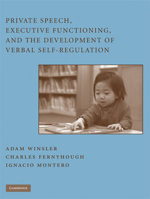 Private Speech, Executive Functioning, and the Development of Verbal Self-Regulation (Hardback)