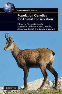 Population Genetics for Animal Conservation - Conservation Biology 17 (Hardback)