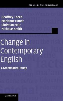 Cover Studies in English Language: Change in Contemporary English: A Grammatical Study