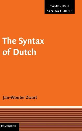 The Syntax of Dutch - Cambridge Syntax Guides (Hardback)