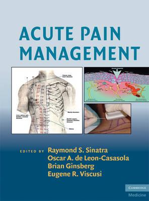 Acute Pain Management (Hardback)