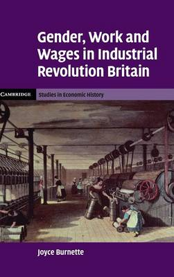 Gender, Work and Wages in Industrial Revolution Britain - Cambridge Studies in Economic History: Second Series (Hardback)
