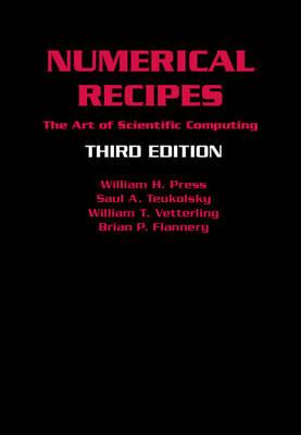Numerical Recipes 3rd Edition: The Art of Scientific Computing (Hardback)
