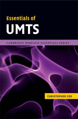 Essentials of UMTS - The Cambridge Wireless Essentials Series (Hardback)