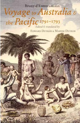A Voyage to Australia and the Pacific 1791-1793 (Hardback)