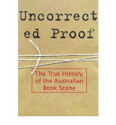 Uncorrected Proof (Paperback)