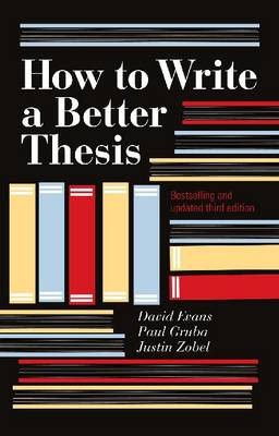 How to Write a Better Thesis (Paperback)