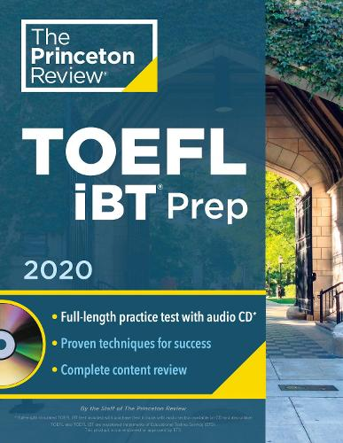 Princeton Review TOEFL iBT Prep with Audio CD, 2020 - COLLEGE TEST PREP (Paperback)