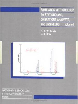 Simulation Methodology for Statisticians, Operations Analysts, and Engineers (Hardback)