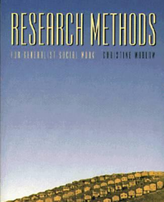 Research Methods for Generalist Social Work (Hardback)