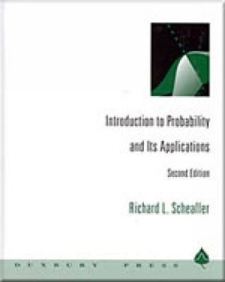 Introduction to Probability and Its Applications (Hardback)