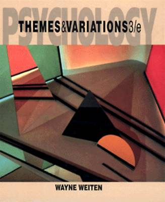 Psychology: Themes and Variations (Paperback)