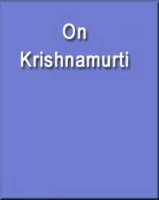 On Krishnamurti (Paperback)