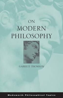 On Modern Philosophy (Paperback)