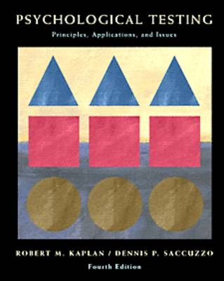 Psychological Testing: Principles, Applications and Issues (Hardback)