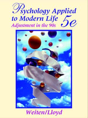 Psychology Applied to Modern Life: Adjustment in the 90s (Hardback)