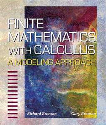 Finite Mathematics with Calculus: A Modeling Approach (Hardback)