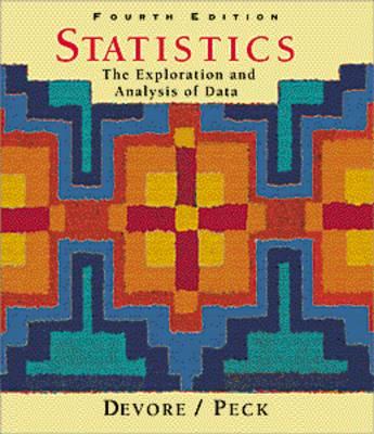 Statistics: The Exploration and Analysis of Data (Hardback)