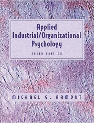 Applied Industrial/Organizational Psychology (Paperback)