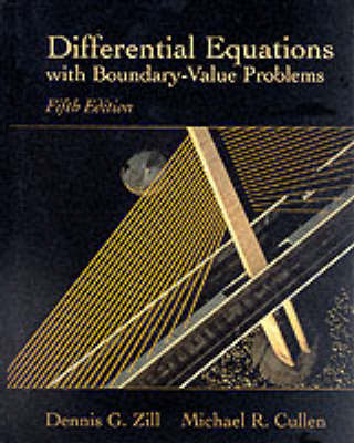 Differential Equations with Boundary-value Problems (Hardback)