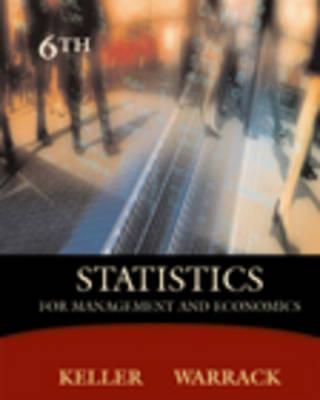 Statistics for Management and Economics (Hardback)