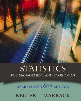 Stat Mgt/Econ, Abb-CD/INF 6e