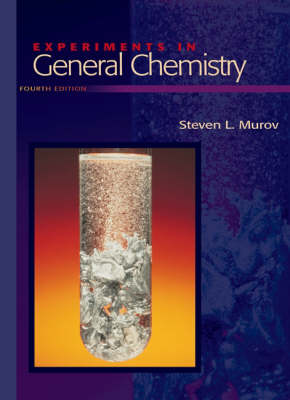 Experiments in General Chemistry (Paperback)