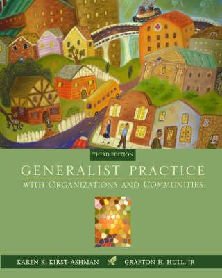 Generalist Prac W/Orgs & Commu (Book)