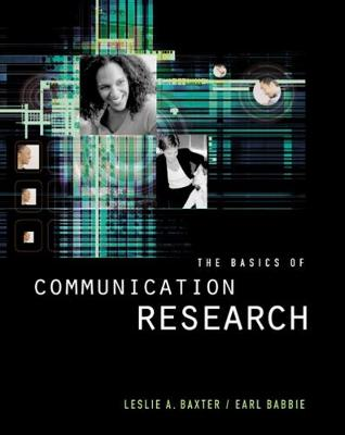 The Basics of Communication Research (with InfoTrac (R)) (Paperback)
