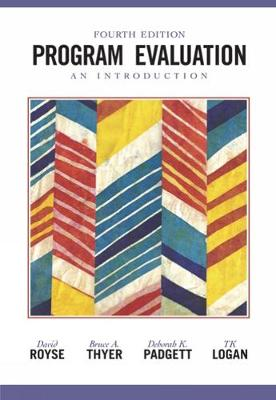 Program Evaluation: An Introduction (Paperback)