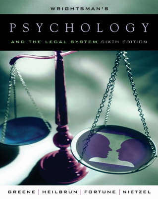 Psych and the Legal System 6e (Book)