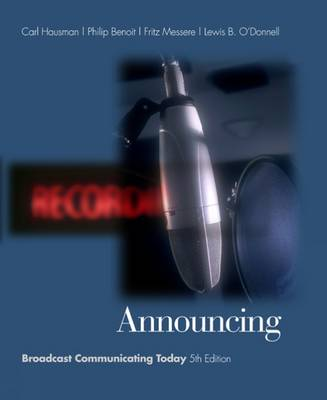 Announcing: Broadcast Communicating Today (with InfoTrac) (Hardback)