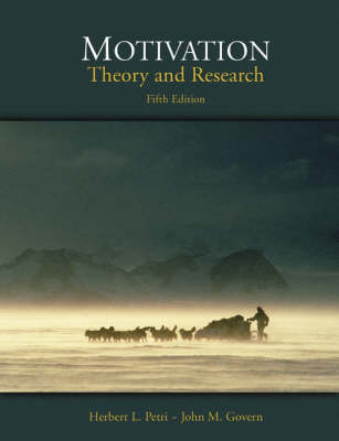Motivation: Theory and Research (Hardback)