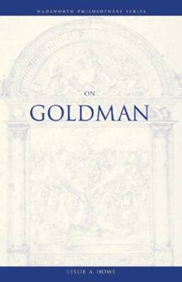 On Goldman (Paperback)