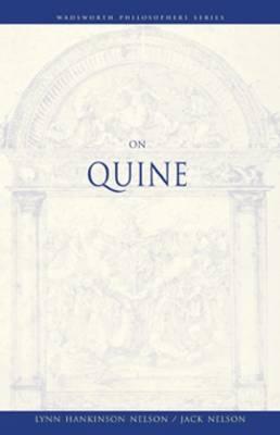 On Quine - Wadsworth Philosophers Series (Paperback)