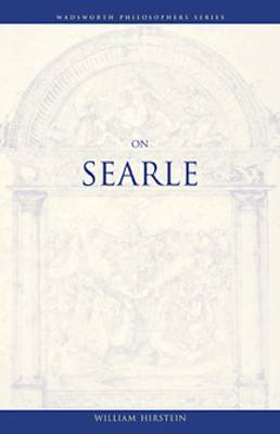 On Searle - Wadsworth Philosophy Series (Paperback)