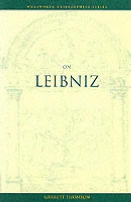On Leibniz - Wadsworth Philosophers Series (Paperback)