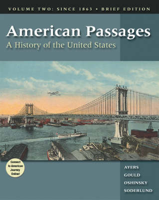Amer Passages Brief Vol II (Paperback)