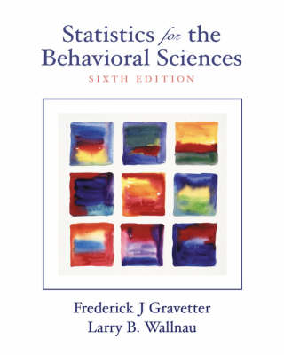 Stats F/the Behavior Sci 6e (Hardback)