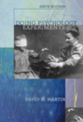 Doing Psychology Experiments (Hardback)