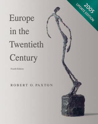 Europe/20th Cen,2005 Updt 4e (Book)