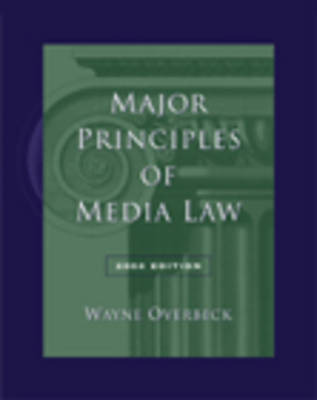 Major Principles of Media Law 2004 (Paperback)